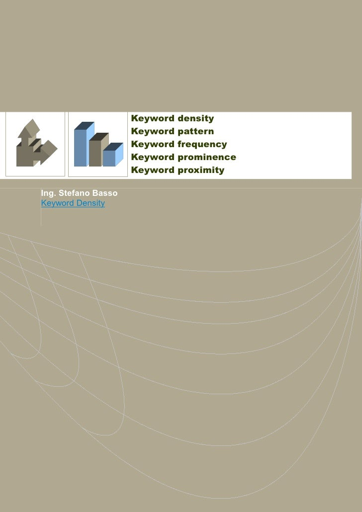 Keyword   density                     Keyword   pattern                     Keyword   frequency                     Keywor...