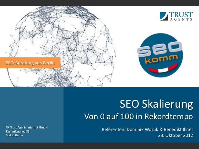 SEO-Beratung aus Berlin                                            SEO Skalierung                                Von 0 auf...