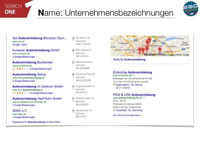 Name: Unternehmensbezeichnungen