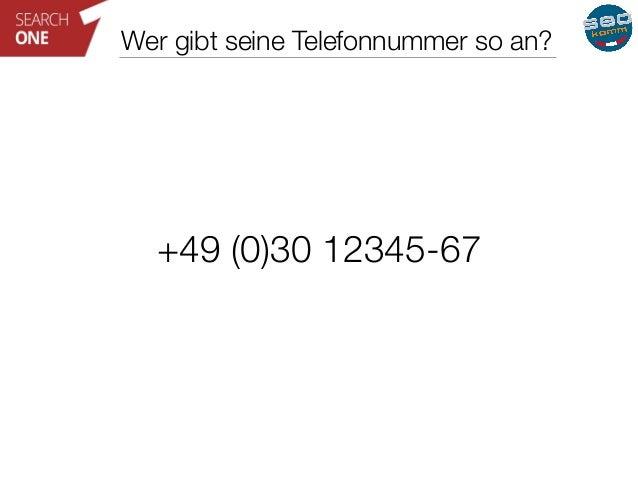 Wer gibt seine Telefonnummer so an?  +49 (0)30 12345-67