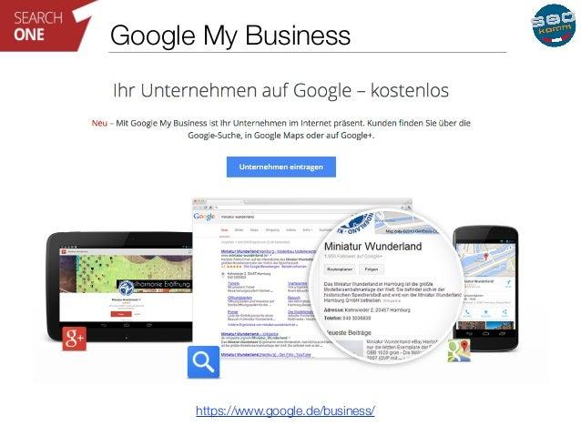 Google My Business  https://www.google.de/business/
