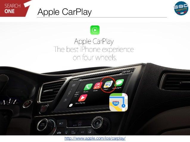 Apple CarPlay  http://www.apple.com/ios/carplay/