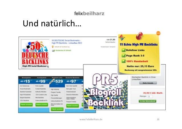 Und natürlich…  www.FelixBeilharz.de  16