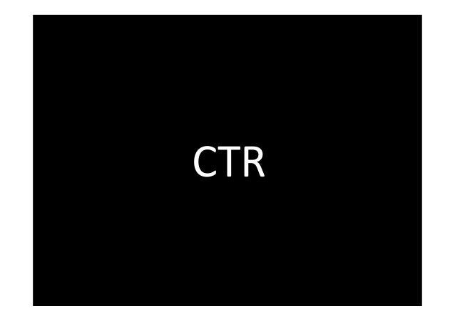 CTR  www.FelixBeilharz.de 39