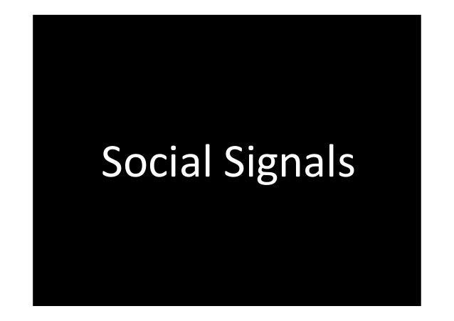 Social Signals  www.FelixBeilharz.de 49