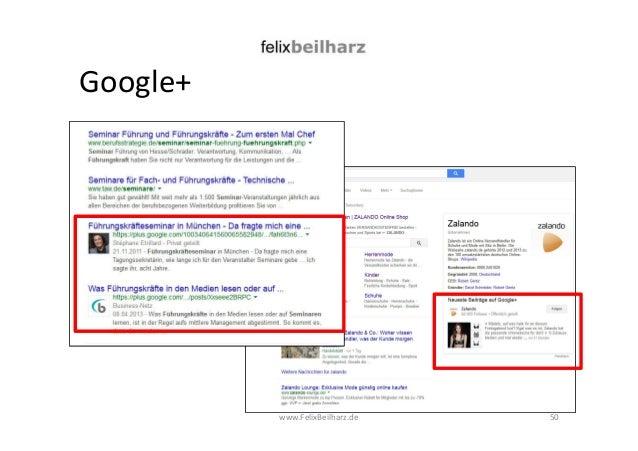 Google+  www.FelixBeilharz.de 50