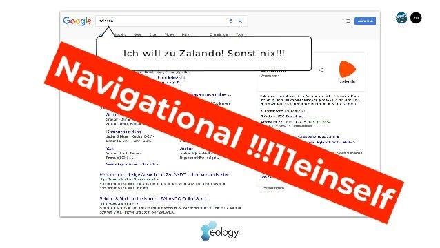 20 Ich will zu Zalando! Sonst nix!!! Navigational !!!11einself