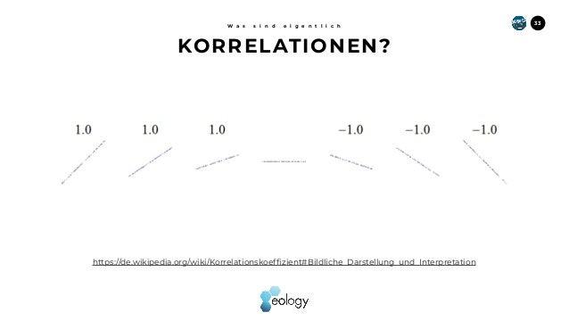 33 https://de.wikipedia.org/wiki/Korrelationskoeffizient#Bildliche_Darstellung_und_Interpretation KORRELATIONEN? W a s s i...