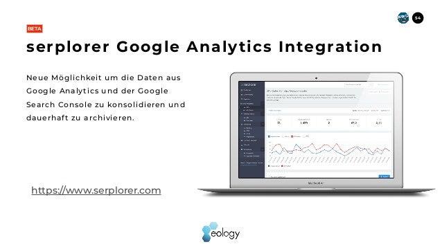 Neue Möglichkeit um die Daten aus Google Analytics und der Google Search Console zu konsolidieren und dauerhaft zu archivi...
