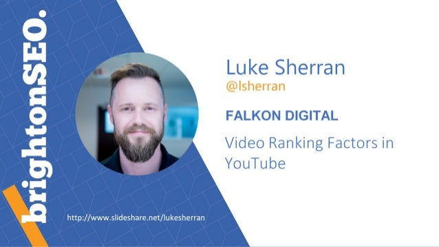 Video Ranking Factors in YouTube