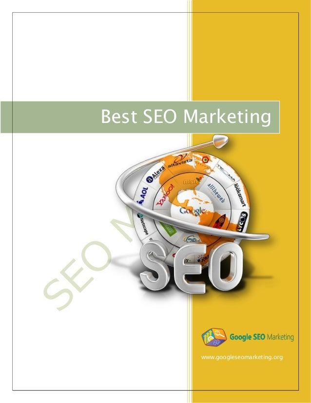 www.googleseomarketing.org Best SEO Marketing