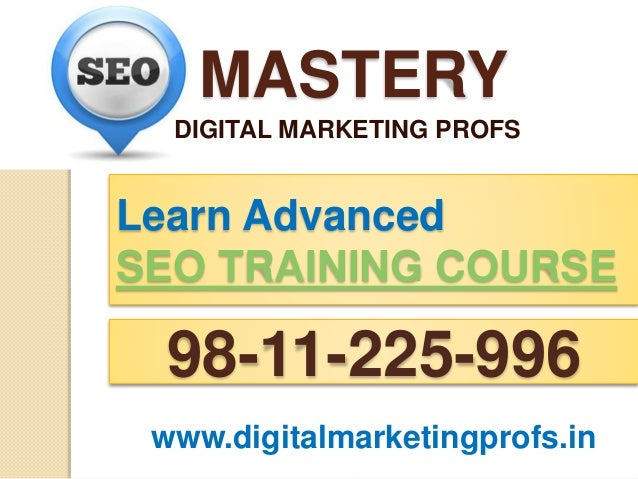 Learn Seo In Delhi