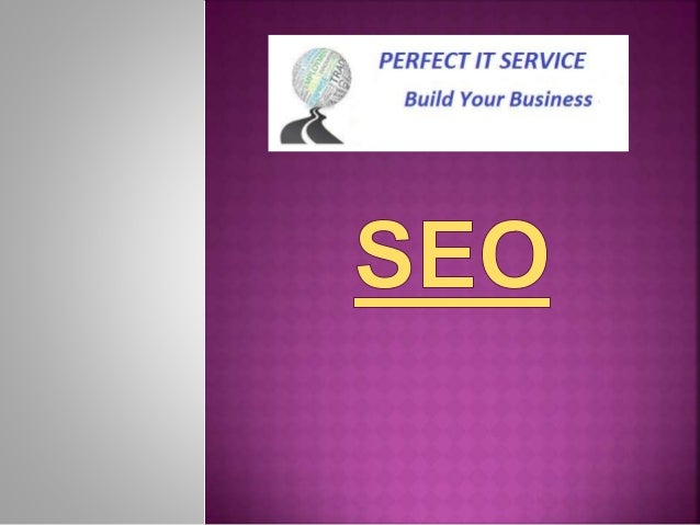  The complete SEO procedure works on two types of optimization Techniques, On-Page and Off-Page SEO optimization.  Both ...