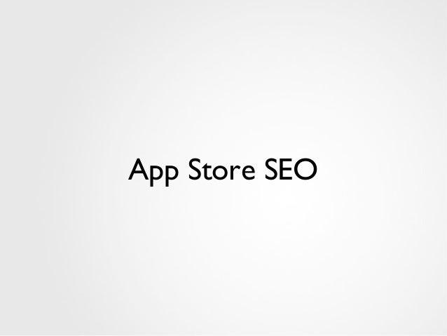 App Store SEO