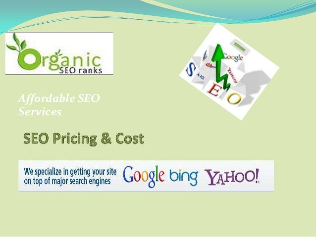 Affordable SEOServices