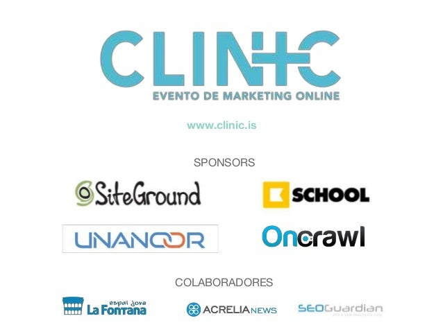 COLABORADORES SPONSORS www.clinic.is
