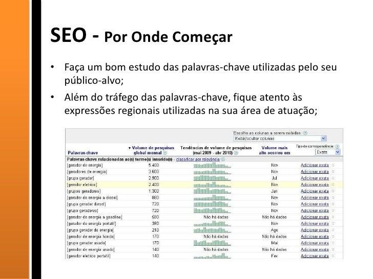 SEO para Empresas - OMExpo Slide 3