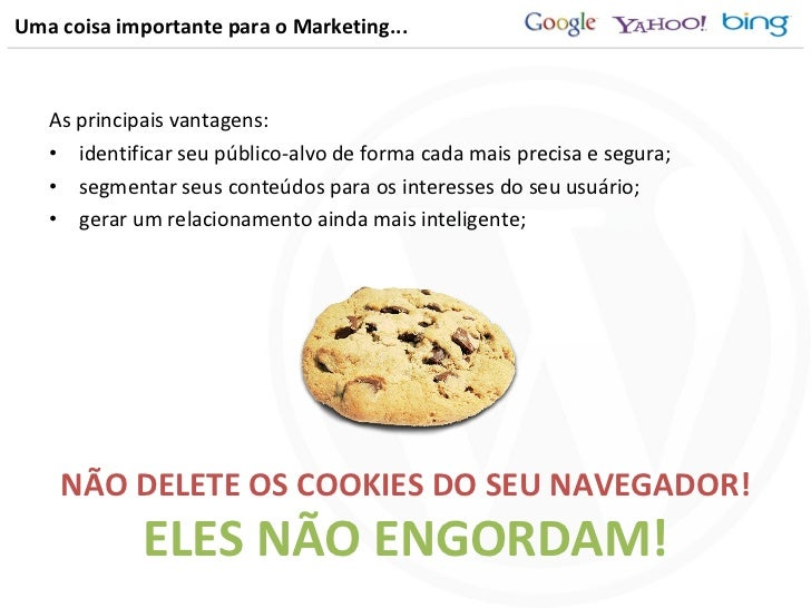 Uma coisa importante para o Marketing... <ul><li>As principais vantagens: </li></ul><ul><li>identificar seu público-alvo d...