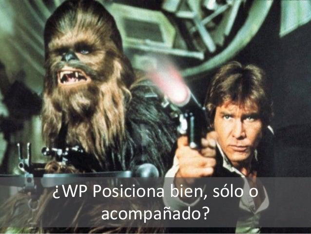 ¿WP Posiciona bien, sólo o acompañado?