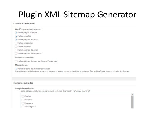 Plugin XML Sitemap Generator
