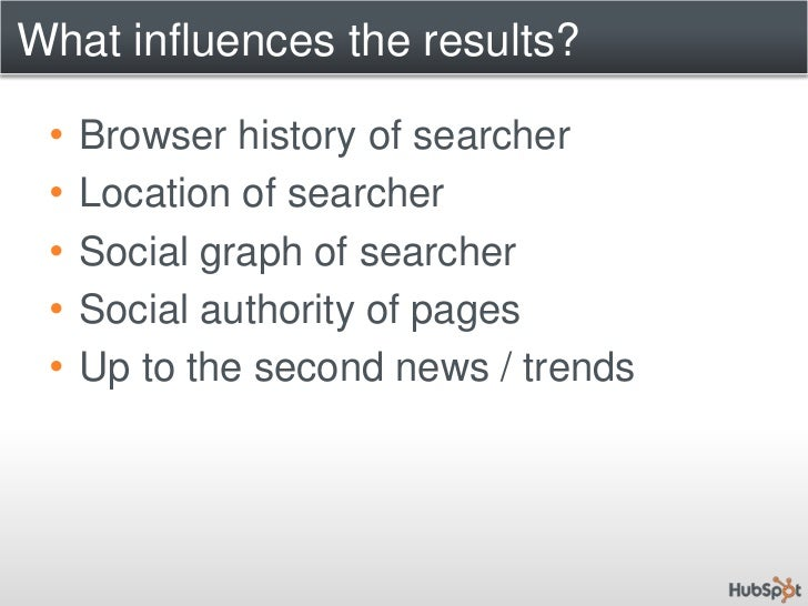 SEO in 2010 and Beyond<br />Ranking Algorithm:f(n): Context + Authority<br />+ Social / Personal<br />