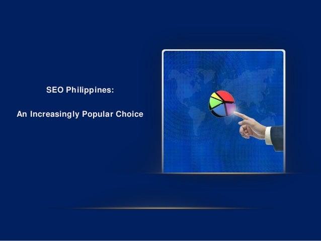 SEO Philippines: An Increasingly Popular Choice