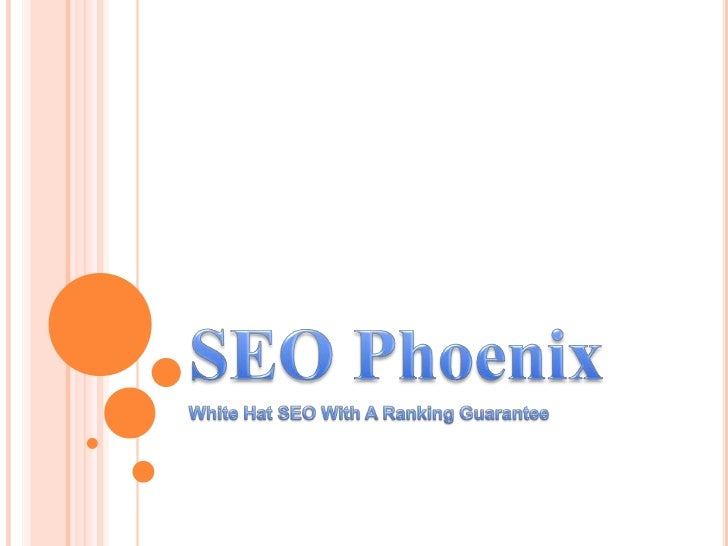 DO YOU KNOW SEO PHOENIXIn terms of creating a website and generating trafficfor this, SEO or Search Engine Marketing is th...