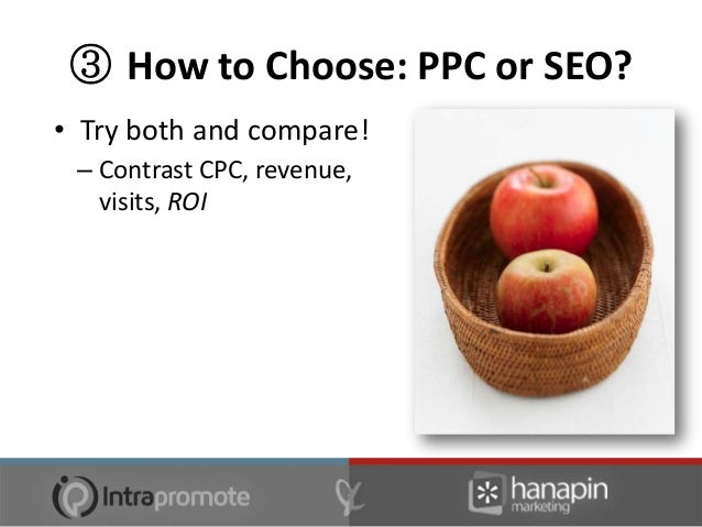 ④ Getting SEO & PPC Back On Board• Use one to kick start the other  – for budget issues  – i.e. PPC revenue goes to SEO ca...