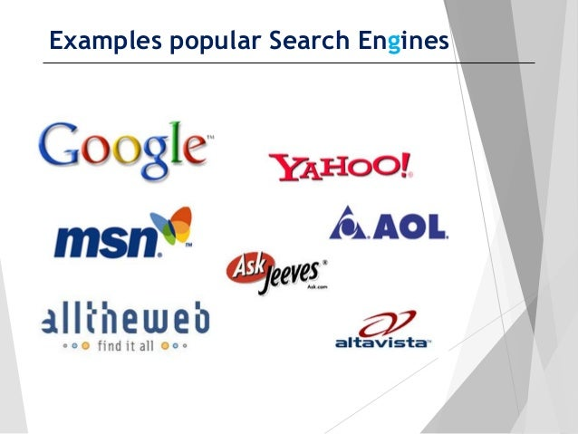Make Google your default search provider – Google