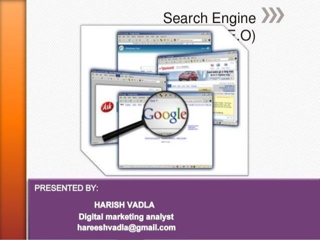 1 > What is S.E.O? 2 > Importance Of S.E.O? 3 > Benefits Of S.E.O? 4 > Search Engine Market Share 5 > How Search Engine Wo...