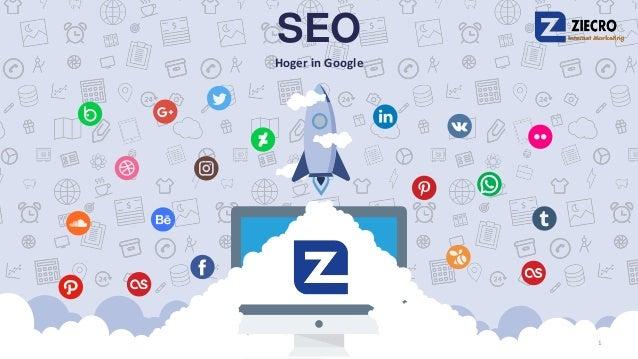 SEO Hoger in Google 1