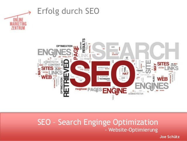 LOGOSEO – Search Enginge OptimizationErfolg durch SEOJoe Schütz- Website-Optimierung