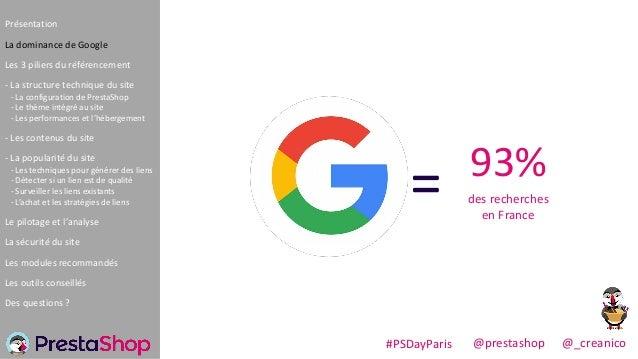 Donner plus de visibilité Google à PrestaShop Slide 3