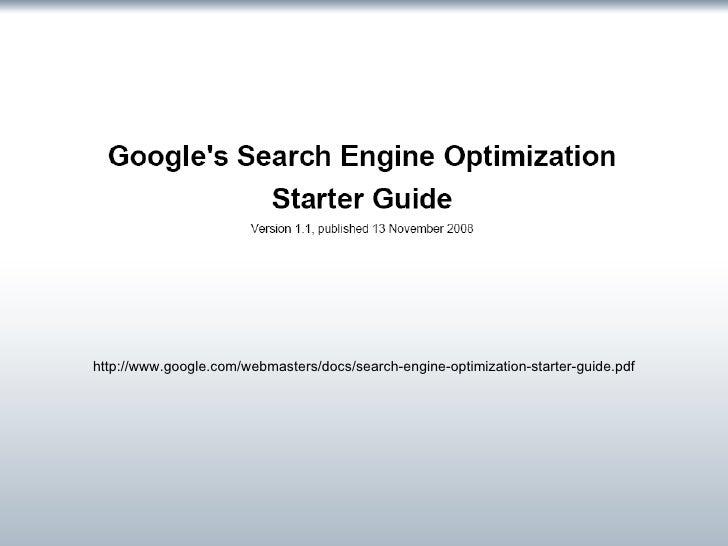 SEO: Search Engine Optimization slideshare - 웹