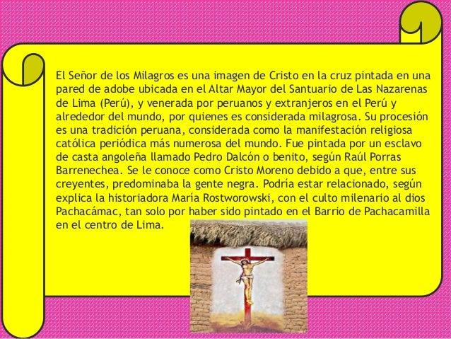 HOMENAJE AL SEÑOR DE LOS MILAGROS Slide 2