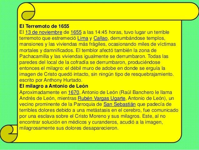 HOMENAJE AL SEÑOR DE LOS MILAGROS Slide 3