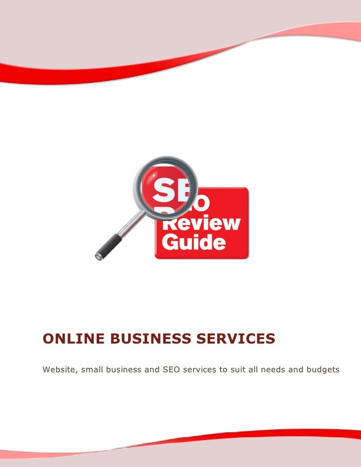 ONLINE BUSINESS SERVICES  Website, small business and SEO services to suit all needs and budgets