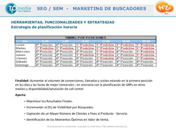 SEO / SEM -                    MARKETING DE BUSCADORESHERRAMIENTAS, FUNCIONALIDADES Y ESTRATEGIASEstrategia de planificaci...