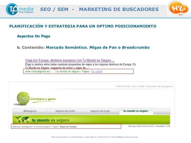 SEO / SEM -                     MARKETING DE BUSCADORESPLANIFICACIÓN Y ESTRATEGIA PARA UN OPTIMO POSICIONAMIENTO   Aspecto...