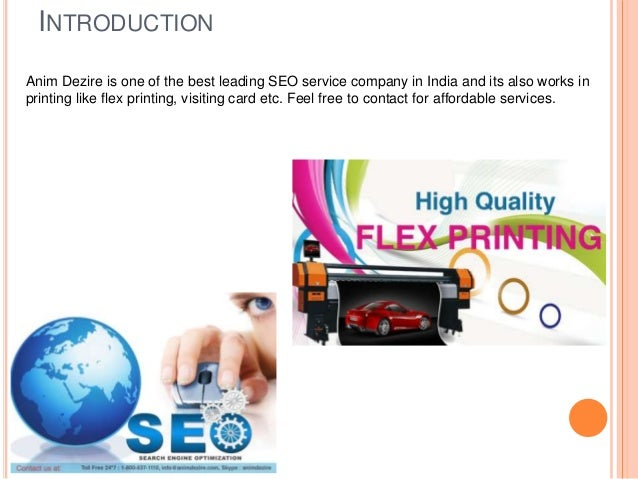 Seo service and flex printing company india reheart Images