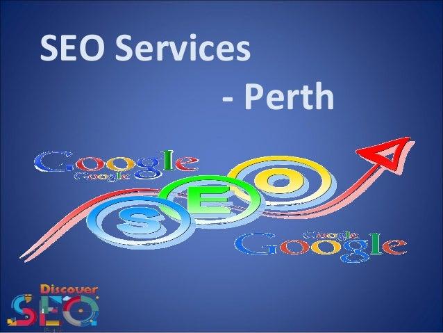 SEO Services - Perth