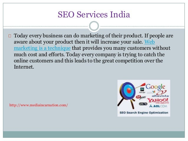 SEO Services India  Today every business can do marketing of their product. If people are  aware about your product then i...