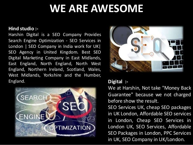 Seo services in sheffield