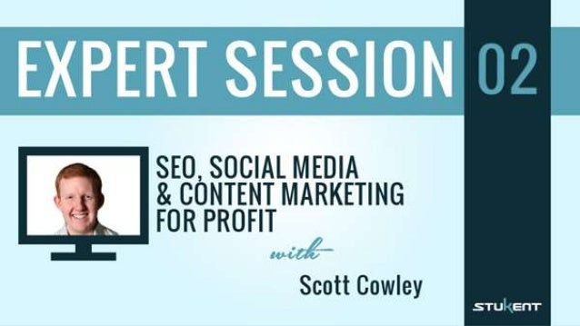 Scott Cowley •Digital marketing researcher •Former head of SEO at ZAGG •Consultant for dozens of companies •Marketing stra...