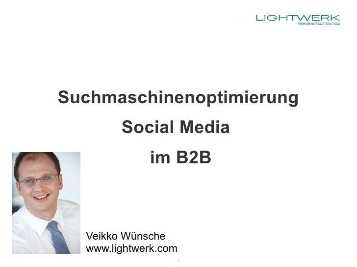 Suchmaschinenoptimierung, Social Media im B2B