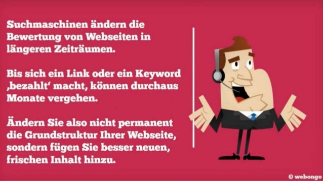 10 Seo Tipps webongo webdesign