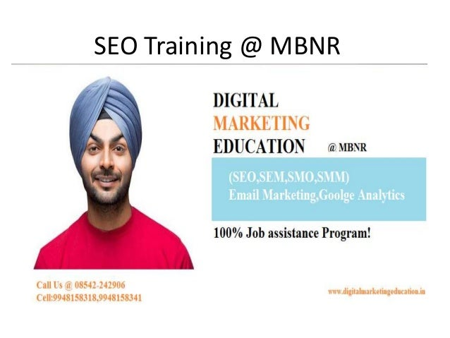 SEO Training @ MBNR