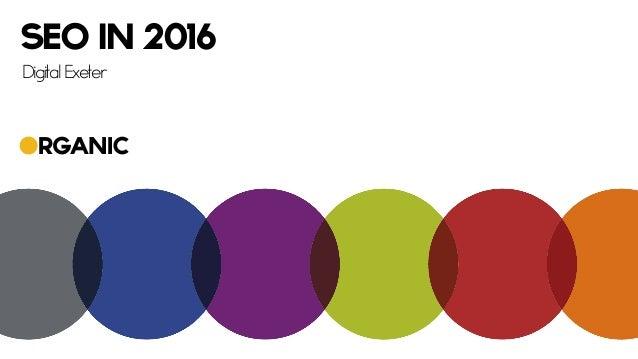 SEO in 2016 Digital Exeter