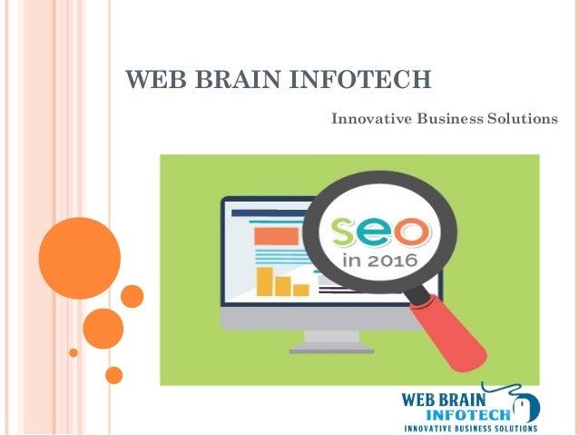 WEB BRAIN INFOTECH Innovative Business Solutions