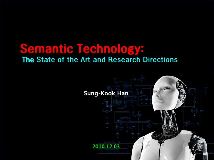 Semantic Technology:The State of the Art and Research Directions                 Sung-Kook Han                   2010.12.03
